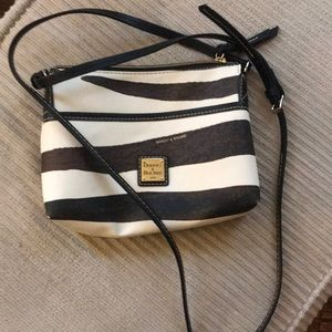 Dooney and Bourke zebra shoulder bag!
